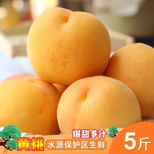 临沂蒙阴县锦香黄桃 黄金毛桃锦香 促销价 支持代发