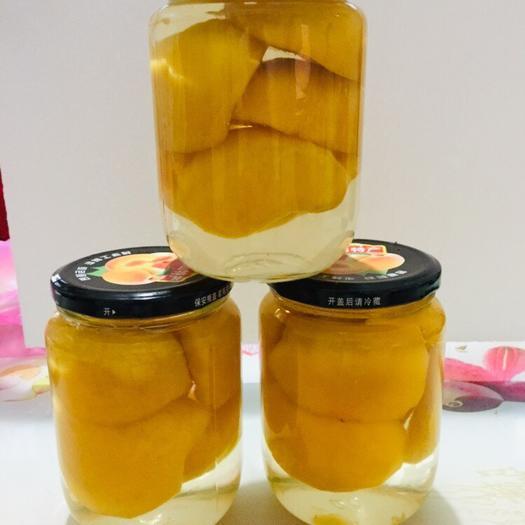 宿州碭山縣 碭山農家黃桃罐頭純手工0添加【2斤/瓶】六瓶裝酸甜可口