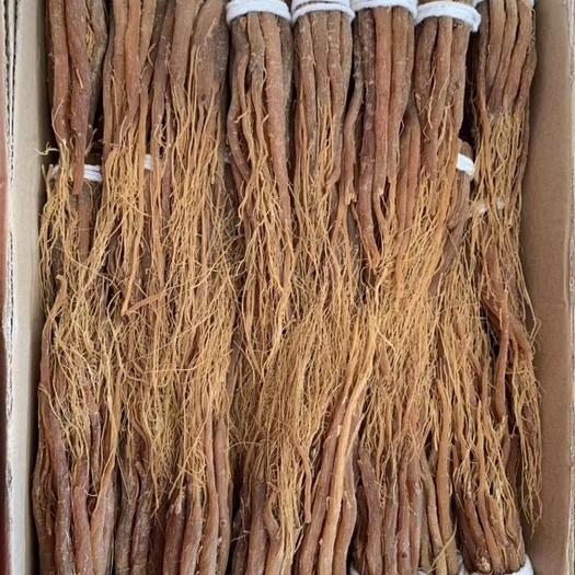 通化县 长白山无糖红参须,煲汤炖菜泡茶都可以。