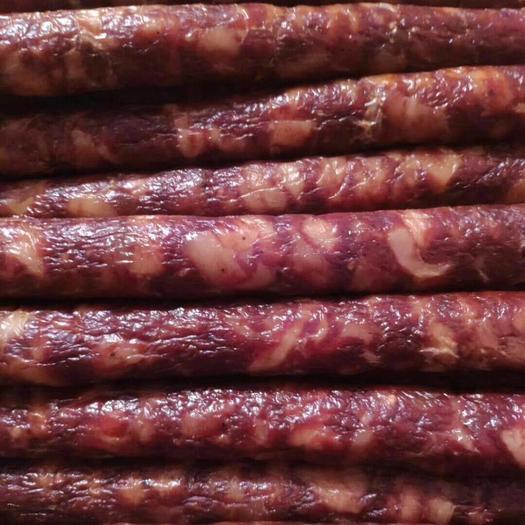 安康平利縣麻辣香腸 農家自制臘肉香腸,自然風干,3斤起售包郵
