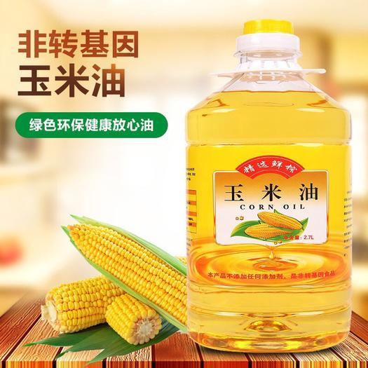 泰安 鮮榨純正玉米胚芽油非轉基因一級壓榨金胚玉米油 特價包郵
