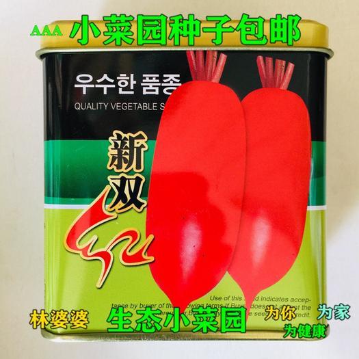 宿迁沭阳县 新双红杂交萝卜种子包邮