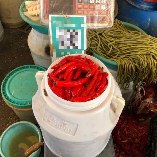 广西壮族自治区柳州市鱼峰区腌制酸椒 散装 18-24个月