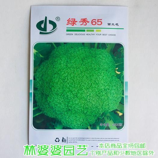 宿迁沭阳县 绿秀65杂交西兰花种子