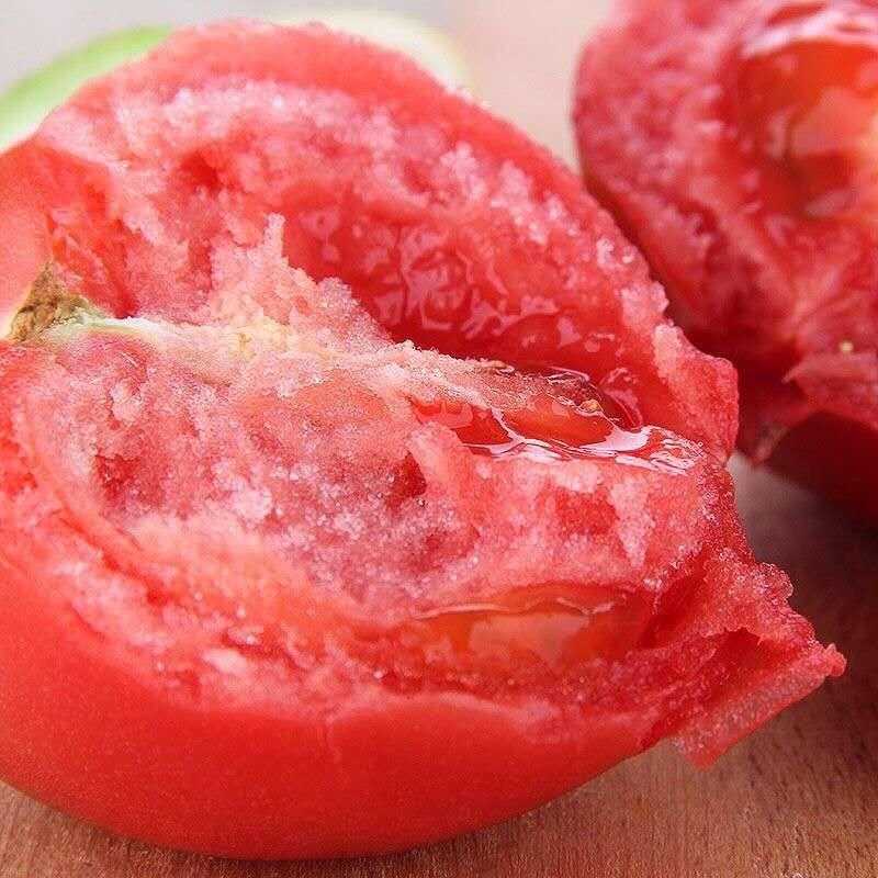 山東新鮮西紅柿蔬菜大番茄沙瓤西紅柿水果無公害自然熟 批發包郵