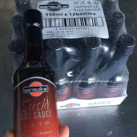 深圳鹽田區 日式醬油 150ml/瓶 12瓶一箱