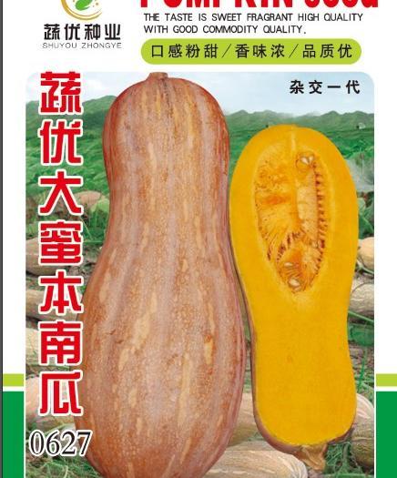 平远县 蔬优大蜜本南瓜种子