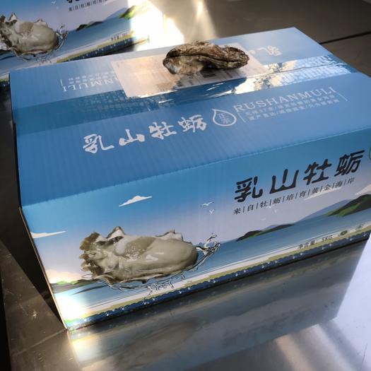 威海乳山市山东乳山牡蛎 正宗乳山生蚝,工厂直发,对接电商平台 社区团购 5斤精品礼盒