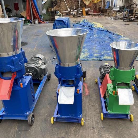 郑州荥阳市饲料颗粒机 大小型家用220v鸡鸭鱼虾兔牛羊猪养殖设备380V  包邮