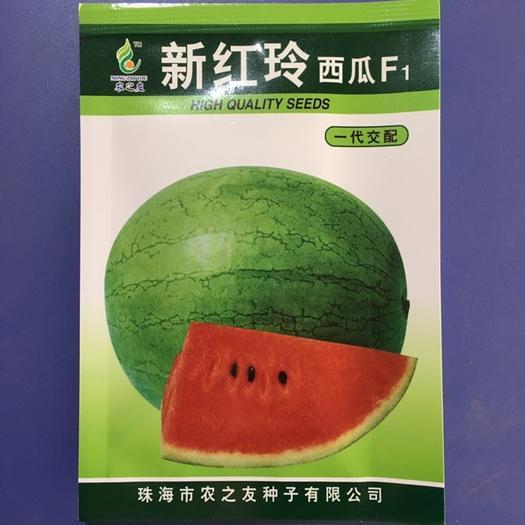 珠海斗门区金玲西瓜种子 农之友公司新育成新品种,追求高端品质需求的首选礼品瓜品种