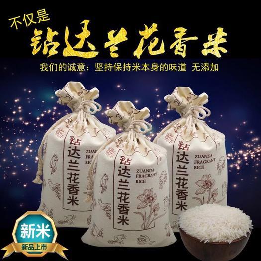 橫縣 鉆蘭達花香米9斤包郵大米南方米細長大米晚稻新米