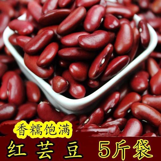 菏澤東明縣 【特價包郵】新紅腰豆大紅蕓豆壩上大紅豆 做豆餡甜品紅蕓豆批