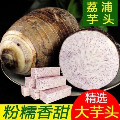 永??h 【特價包郵】廣西荔浦芋頭新鮮現挖紫藤檳榔香芋毛芋當季農家蔬菜