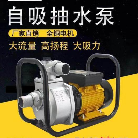 温岭市 贸泰水泵农田抽水灌溉工地抽油自吸离心泵