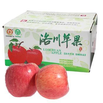 苹果水果新鲜脆甜洛川水晶正宗陕西红富士10斤5斤顺丰