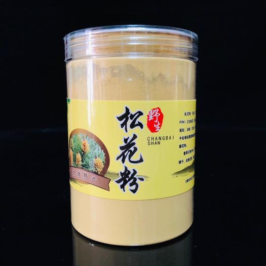 【买5送一】东北好粉长白山头道松花粉优质松花粉食用松花粉正品