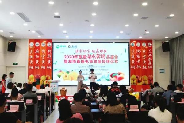 开售丨消费扶贫助农富,惠农网推动湖南九县黄桃上行